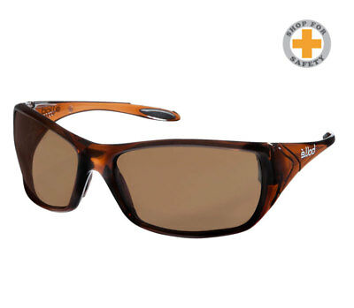 Bolle Voodoo Safety Specs 1652705 Brown Lens Safety Glasses