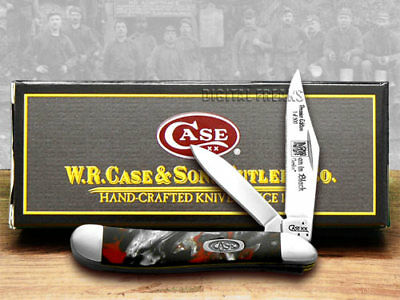 CASE Genuine Man In Black Corelon 1/500 Peanut Knives