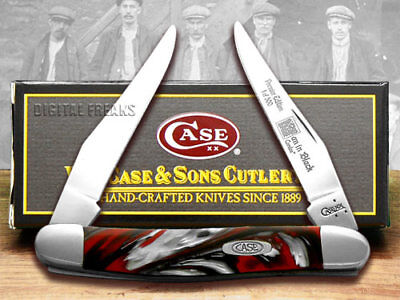 CASE Genuine Man In Black Corelon 1/500 Muskrat Knives