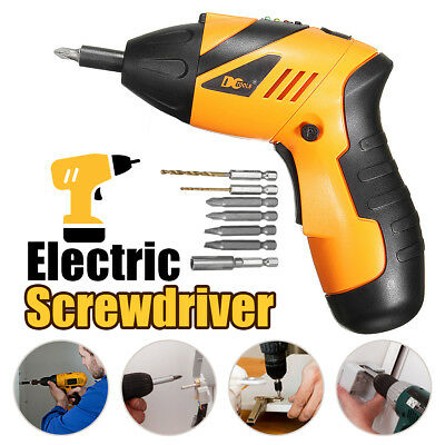 45in1 Power Tool Rechargeable Cordless Electric Screwdriver Drill 180° Foldable