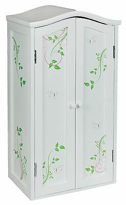 Laurent Doll 18 Inch Doll Armoire Butterflies American Girl Furniture  Storage