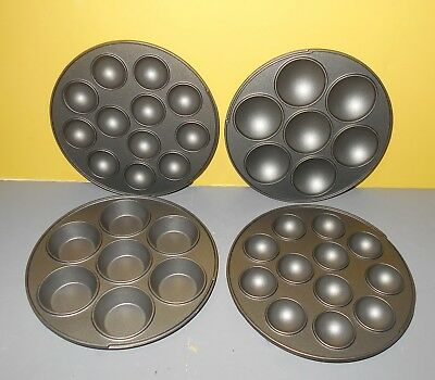 Babycakes MT-6 Multi-Treat Baker 4 Replacement Cooking Pans