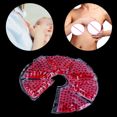 Therapy Pad Bead Ice Gel Pack Hot Cold For Nursing Mother Breast Problem Breast