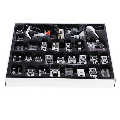 32pcs Multi Function Domestic Sewing Machine Presser Foot Feet Accessory Set