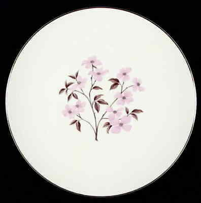 Edwin Knowles PINK DOGWOOD (GOLD TRIM) Dinner Plate 295985