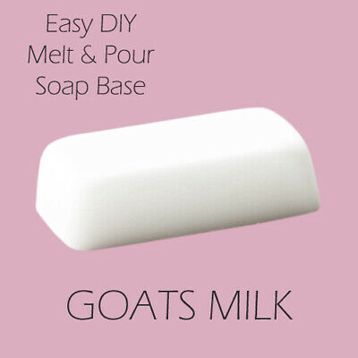 Melt and Pour Soap Base - Goats Milk 1kg