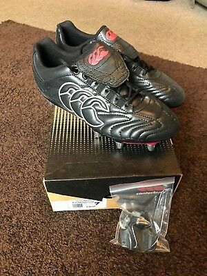 Canterbury Rugby Boots - Stampede Club 8 Stud - New - Stock Clearance RRP £44.99