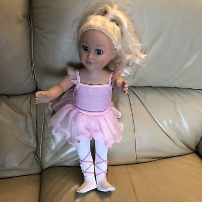 Large Balerina Doll Moving Arms Legs Head With Hair You Can Style