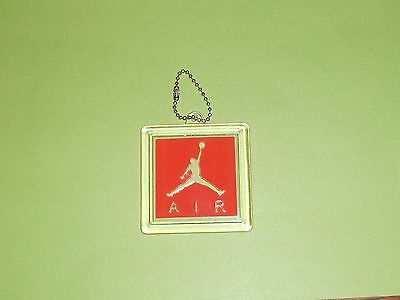 Nike Air Jordan Retro Authentic Tag Shoetag Hangtag Keychain 3 4 5 III IV V Bred