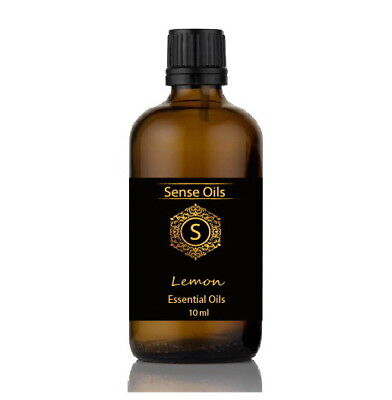 Sense LEMON Essential Oils Pure Natural Premium Aromatherapy Wellbeing Mood oil