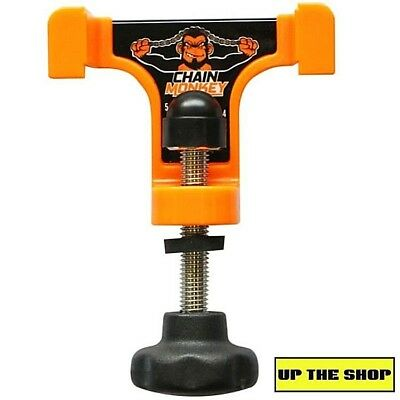 Tru-Tension Chain Monkey Motorcycle Chain Tension Tool Motorbike, so easy to use
