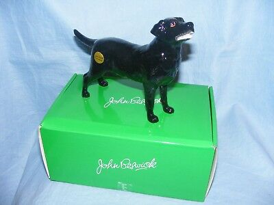John Beswick Dog Labrador Black JBD99 New Boxed Figurine Present Gift