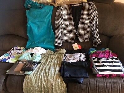 Reseller Wholesale Box Womens Clothing Sz M MP 31 Pieces Resale Wear Donate (W3)
