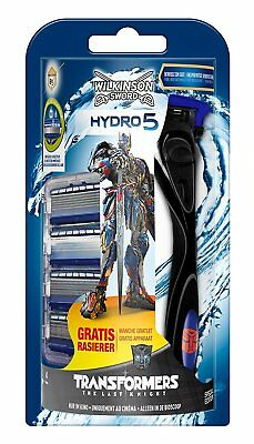 Wilkinson Sword Hydro 5 Razor + 5 Blades - Factory Sealed TRANSFORMERS