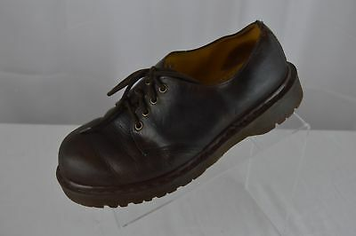 Vintage Dr. Martens Air Walk The Original England Brown Leather Loafers Size 8