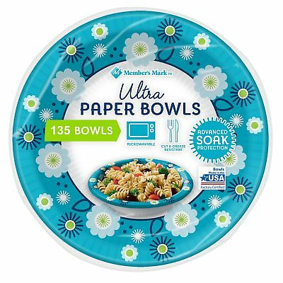 Members Mark Dixie Ultra Paper Bowl 20 ounce 150 ct Heavy Duty Picnic Bowls