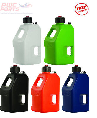 LC2 Fuel Jug w Lid Cap Container Fly Racing ALL COLOR ATV MX WaveRunner 5 Gallon