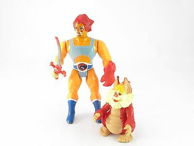 Thundercats Lion-o & Snarf Figure, 80s Vintage, No Power Ring