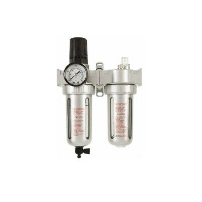 "WorkSmart Air Filter Regulator Lubricator Combo | 1/2"" NPT 