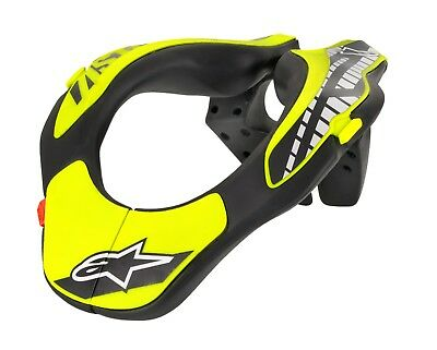 ALPINESTARS MX Off-Road Youth Neck Support Brace One Size Flo Yellow/Black