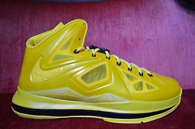 706be91dfd4 NEW Nike Lebron X 10 Must Be The Honey Size 11 Honeywell PE ...