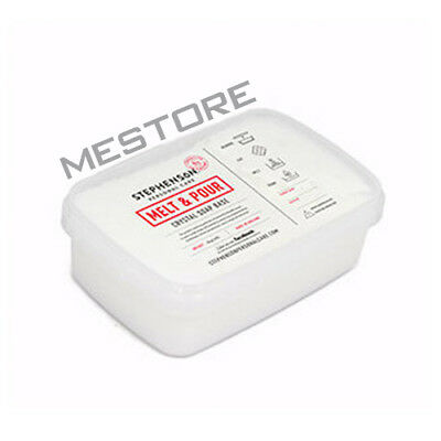 Melt and Pour Soap Base - Transparent