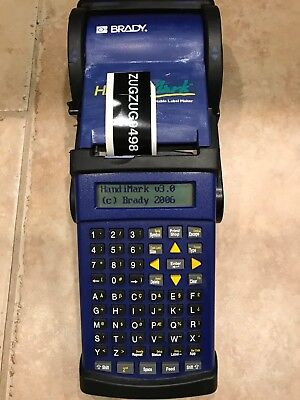 Brady HandiMark Label Maker with Battery Pack + Extras