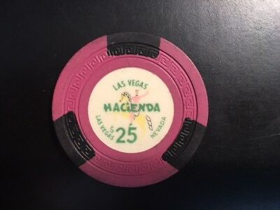 Hacienda $25 Casino Chip - Las Vegas, Nevada