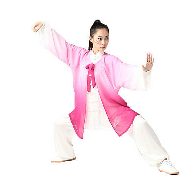 Traditional Chinese Style Adult Unisex Clothes Tai Chi Kung fu Uniforms Set of 3