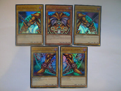 Exodia The Forbidden One Set * Ultra Rare YGLD * All 5 Cards * Yu-gi-oh