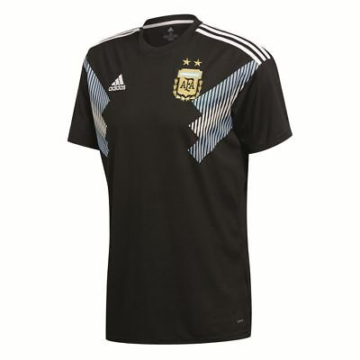 7a9ae436c Adidas Kids Boys Football Soccer Argentina Away Jersey Shirt 2018 World Cup
