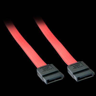 Latching Lindy 1m SATA Cable 33452