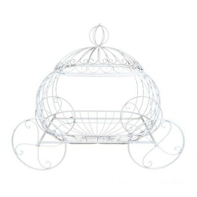 CAKE STAND PUMPKIN CARRIAGE - Vintage Style | Photo Prop Flower Arrangement 90cm
