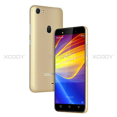 Unlocked XGODY Android 8.1 8GB 3G 2G Dual Core Mobile Phone 2SIM Smartphone qHD