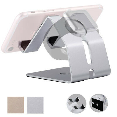 Aluminum Charging Dock Station Holder Stand For iPhone Apple iWatch Charger