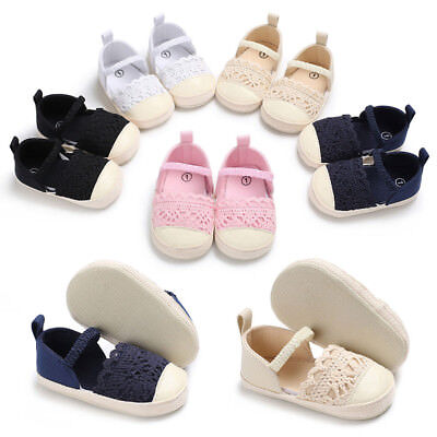 Baby Infant Kids Girls Soft Sole Crib Toddler Newborn Shoes Party Princess Shoes