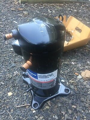 Copeland ZF11K4E-TFD-961 Scroll Compressor NOS NIB LOW TEMP POE OIL 460V 3PH