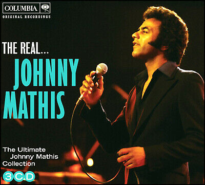 JOHNNY MATHIS * 54 Greatest Hits * NEW 3-CD BOX SET * All Original Songs * NEW