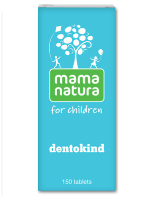 Mama Natura Dentokind * 150 Tabs -Homeopathy,used To Treat Teething Problems