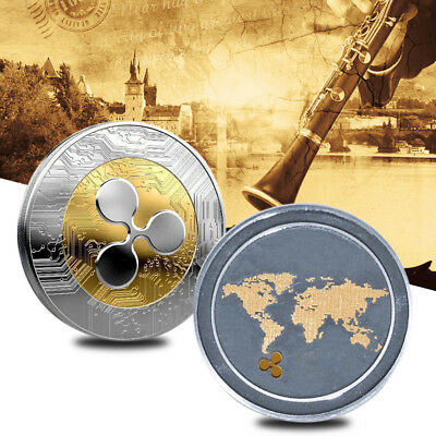 Ripple Ripple Badge Ripple Coins Souvenir Gifts Collectors Non-Currency Coins