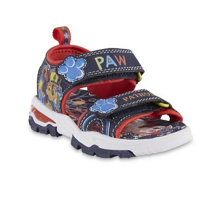 NEW NWT Boys Toddler Sandals Paw Patrol Sea Patrol Size 6 7 8 9 10 11 or 12