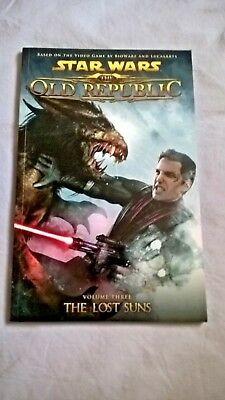 Star Wars -  The Old Republic - The Lost Suns - 1st Edition Graphic Novel Comic
