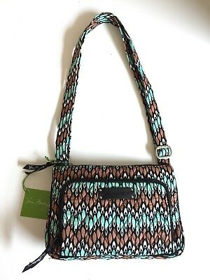 New Authentic Vera Bradley Sierra Stream Little Hipster Bag With Original  Tag 3ad735e8f7939