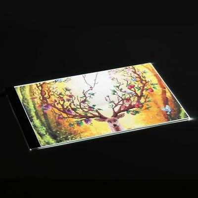 Dimmable A4 LED Slim Craft Drawing Tracing Tattoo Light Box Pad Board Hot R2L4
