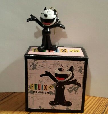 Felix The Cat Ornament Retro Dark Hose Comics New OOP Figure HTF Hang Or Stand A