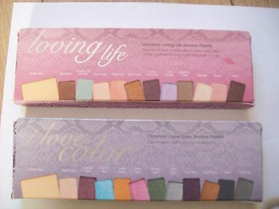 lot of seven MALLY  loving life eyeshadow palette two types  wholesale job lot
