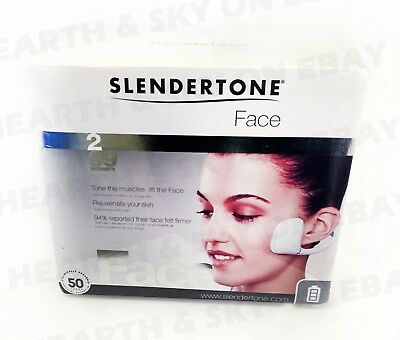 NEW Rare Slendertone Face Deep Tissue EMS Electronic Muscle Stimulation w/ Pads