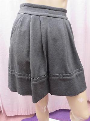 Marc by Marc Jacobs~Gray Willis Skirt~Mini~Pleated~Pockets~Size Zero