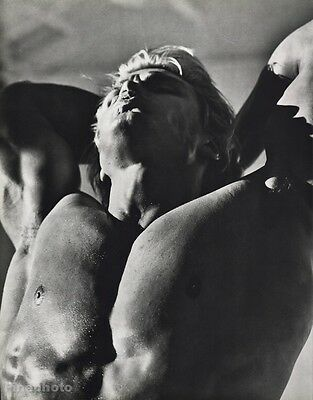 1986 Vintage DOLPH LUNDGREN Semi Nude Male Movie Film Sweden 16x20 By HERB RITTS