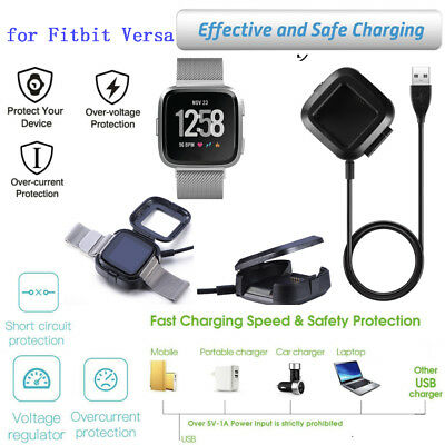 Accessories USB Replacement Charging Dock Station Cable Cord for Fitbit Versa